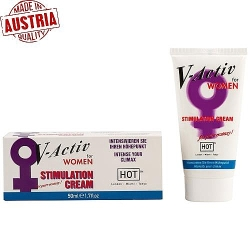 Hot V-Activ Stimulation Cream For Women